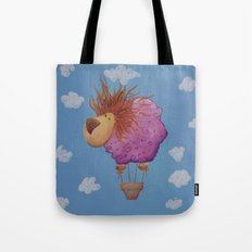 The hot hair balion Tote Bag