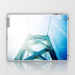 oakland bay bridge  Laptop & iPad Skin