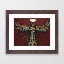 Thunderbird Woman Framed Art Print