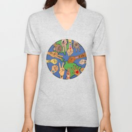 Save the Planet Earth Day Unisex V-Neck