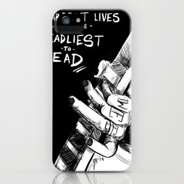 The Sharpest Lives iPhone Case