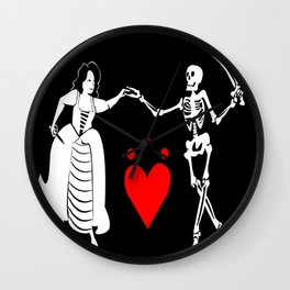 Pirate Queen Jacquotte Delahaye's Flag Wall Clock