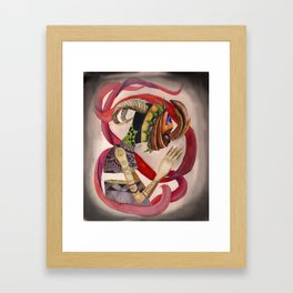 Disconnected Framed Art Print