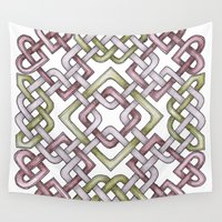 celtic Wall Tapestries featuring Celtic Knotwork by Carrie at Dendryad Art