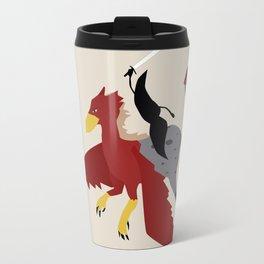 Mythical Mustache Travel Mug