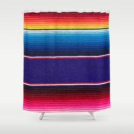 Serape of Mexico Shower Curtain