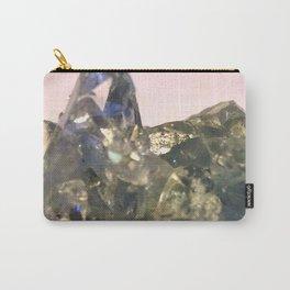 Blue Celestite Crystals Quartz Aura Said to Reduce Stress Carry-All Pouch