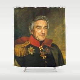 Robert De Niro - replaceface Shower Curtain