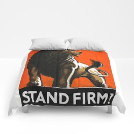 Stand Firm! Comforters
