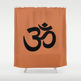 Om/Aum Shower Curtain