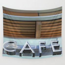 THE CAFE Wall Tapestry