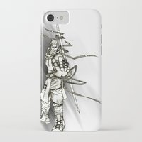 iron maiden iPhone & iPod Cases featuring Maiden by Andre Kang