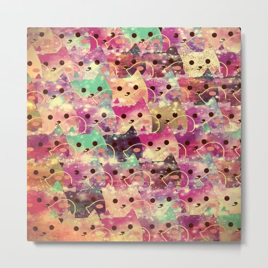 cats-145 Metal Print