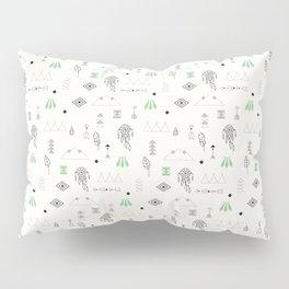 Seamless pattern with native American symbols Pillow Sham