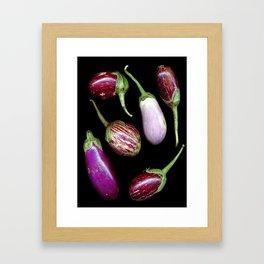 Aubergines Framed Art Print
