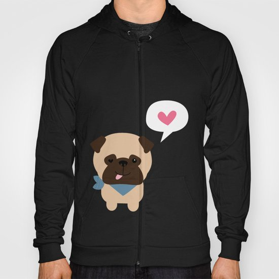 Pancho the Pug Hoody