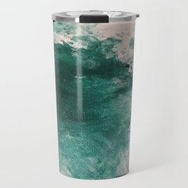 Paint Gone Bad on Canvas Travel Mug