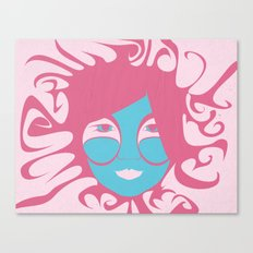 Bjork: All is Full of Love Canvas Print