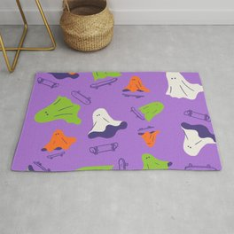 Let's ghost out and skateboarding Rug