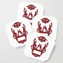 Bloody Sugar Skull Coaster