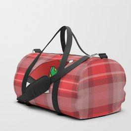 Santa Prefers Donuts Duffle Bag
