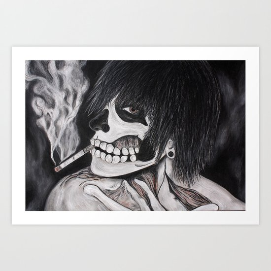 Neither Rick nor Famous. Art Print