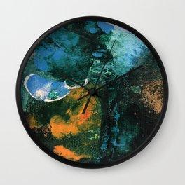 Mini World Environmental Blues 4 Wall Clock
