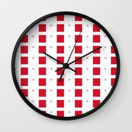 flag of Malta-maltese,maltes,malti,valletta,birkirkara,mosta,Gozo,mediterranenan Wall Clock