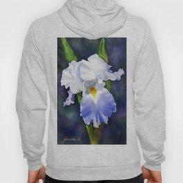 Susan's Blue Iris Hoody