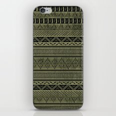 Harry Tribal Print Potter - Hallows Yellow iPhone & iPod Skin