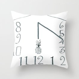 The Sundial of Wehlen Throw Pillow