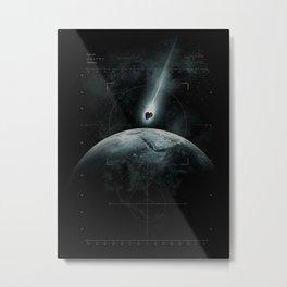 Classified Mission Metal Print