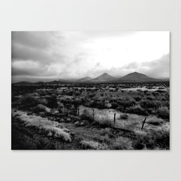 West Texas Dirt Canvas Print