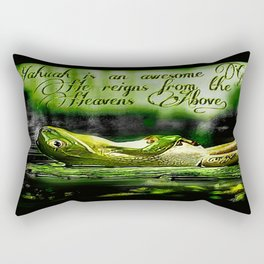 Amphibian Models: Frog Laze 01-07 Rectangular Pillow