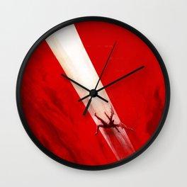 Fall of Lucifer Wall Clock