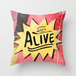 See the TOE! Throw Pillow