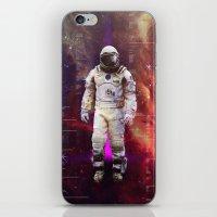 interstellar iPhone & iPod Skins featuring Interstellar by Tony Vazquez