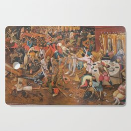 The triumph of Death Cutting Board