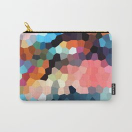 Geometric Painting Vibrants Carry-All Pouch