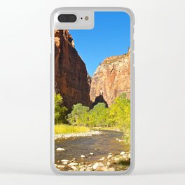 Out of the Narrows Clear iPhone Case