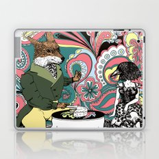 Crow Serie :: The Crow & The Fox (after Lafontaine's Fable) Laptop & iPad Skin