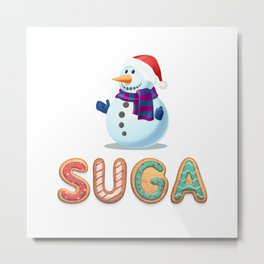 BTS member Suga: Happy Birthday! Metal Print