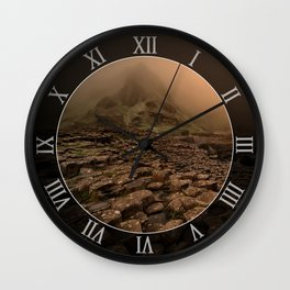 When the sun is going down Wall Clock