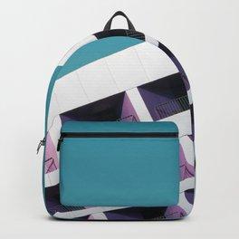 Tilted Building (Color) Backpack