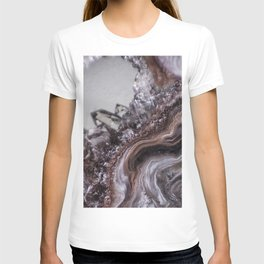 Tiny Agate and crystals T-shirt