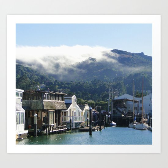 A Day in the Bay Art Print