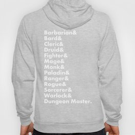 Dungeons and Dragons - Classes Hoody