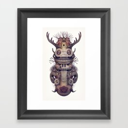 Totem Framed Art Print