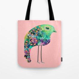 thr boho rainbow bird Tote Bag