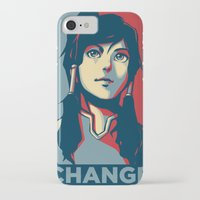 avatar iPhone & iPod Cases featuring Avatar Changes by Reza Kabir